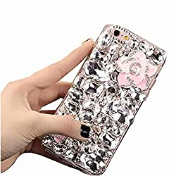 Clear FenHua Rhinestone With TPU Case for Oppo