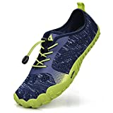 QANSI Mens Runnig Shoes Mesh Breathable Minimalist Trail Running Shoes Outdoor Walking Shoes(Size 11.5 M US)