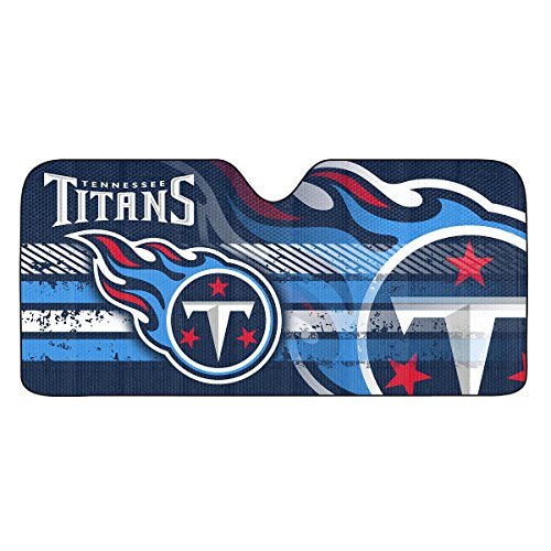 NFL Tennessee Titans Universal Auto Shade, Blue