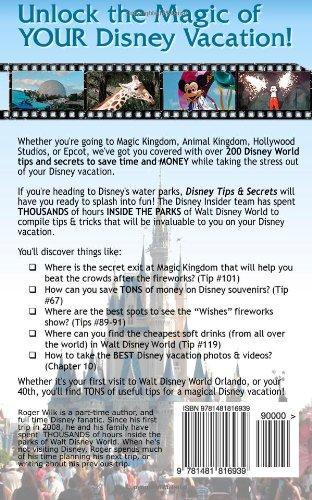 Disney Tips Secrets Unlocking the Magic of a Walt Disney World