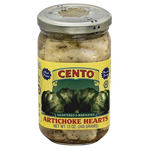 Cento Artichoke Hearts Marinated 12.0 OZ (Pack of 12)