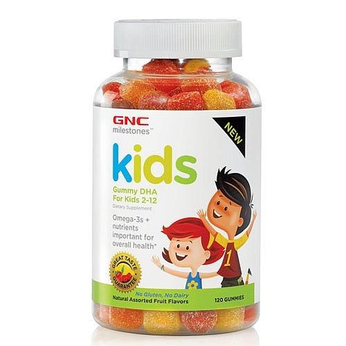Jalons GNC enfants Gummy DHA pour