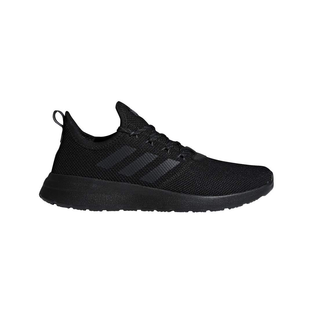 adidas Men's Lite Racer Reborn Running Shoe, Black/Grey, 10.5 M US by adidas