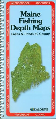 Maine Fishing Depth Maps Atlas