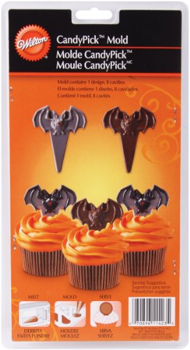 Wilton Bat Candy Picks, Cupcakes mold -