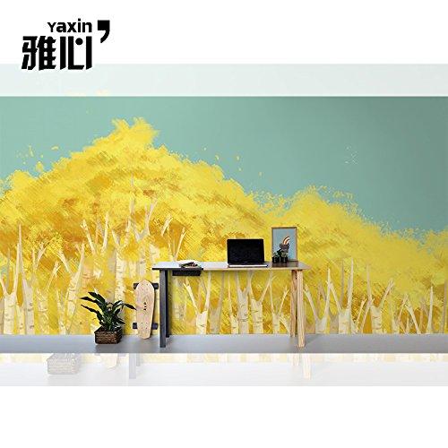 ベッドルーム壁画フラワーベニバナピンクの花景色の風景植物背景の写真3D 研究の壁紙 カスタマイズサイズ シルク生地 Wapel 200X130Cm(78.74X51.18 In) B07DJWSV52