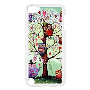 Make Your Own Photos Cover Case for Ipod Touch 5 Phone Case - Owl HX-MI-016173