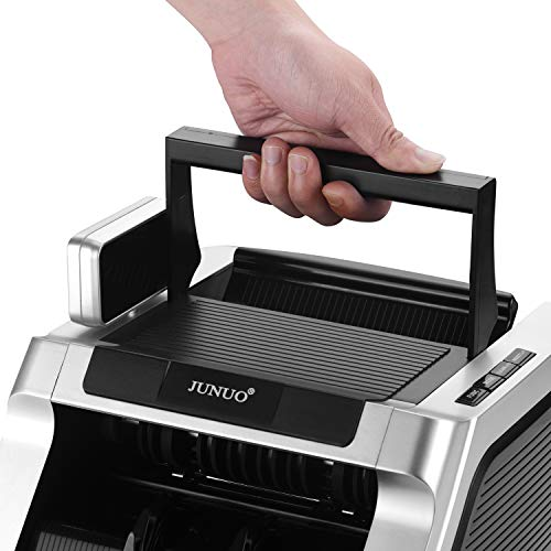 Money Counter with UV, Magnetic and Infrared Counterfeit Detection, Bill Counting Machine with Higher speeds, 1000 Bills Per Minute, Professional Cash Counting Machine and 1 Year Warranty by JUNUO (Image #6)
