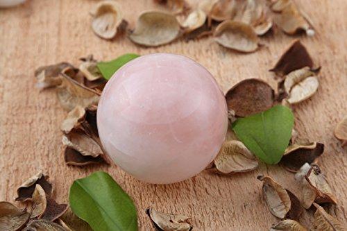 Aatm Reiki Energized Rose Quartz Ball Stone Of Love & Relationship by Aatm (Image #1)