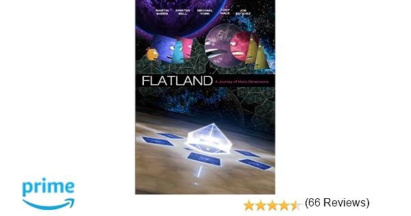 Amazon.com: Flatland: The Movie: Martin Sheen, Michael York ...