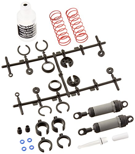Traxxas 3760A Gray Ultra Shocks Complete with Springs, Long (pair)