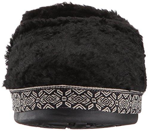 Woolrich Femmes Whitecap Pantoufle Noir