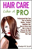 Want shinier, prettier, & healthier hair? How about getting your hair to grow longer and more luxuriously?Ever wonder if you are taking proper care of your short/long, dry/oily, curly/straight hair?Is brushing your hair 100 strokes a day sufficie...
