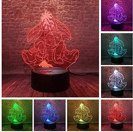 Lámpara de ilusión óptica Lovely Bear Display 7 Cambio de ...