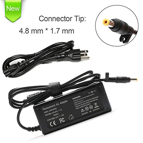 VUOHOEG 65W AC Adapter Charger Replacement for HP Pavilion DV6000 DV6500 DV6700 DV1000 DV2000 DV4000 DV5000 DV8000 DV9000 DV9500 Compaq Evo N1000 Part