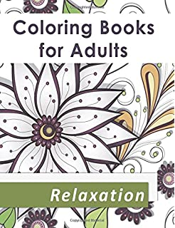 Amazoncom Coloring Books for Adults Adult Coloring Book with