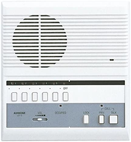 Aiphone 5-Call Intercom Master Station, Surface Mount