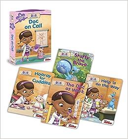 Doc McStuffins: Doc on Call: Board Book Boxed Set: Disney