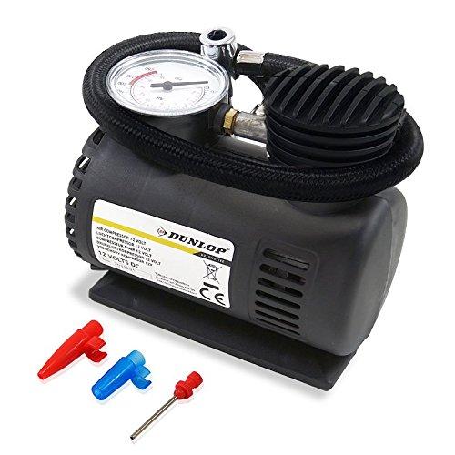 Dunlop 12V Kompressor Minikompressor Pumpe Druckluft Luft 17 Bar für Camping