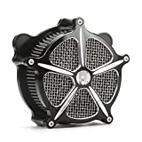 CNC Edge Cut harley Air Cleaner road glide air filter electra...
