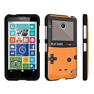 DuroCase ? Nokia Lumia 630 Hard Case Black - (Gameboy Orange)