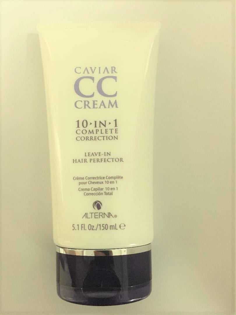 Caviar Anti-Aging CC Cream Leave in Hair Perfector Bonus Size, 5.1-Ounce