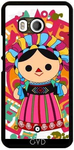 Funda para Htc U11 - Mexican Doll 3 ( Muñeca Maria) by Los dibujos de Alapapaju