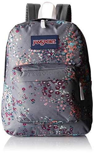 JanSport Unisex SuperBreak Shady Grey Sprinkled Floral One Size by JanSport