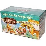 Celestial Seasonings - Sugar Cookie Sleigh Ride Holiday Herb Tea - 20 Tea Bags