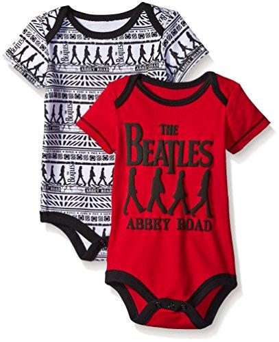 Beatles Baby Boys Value Bodysuits