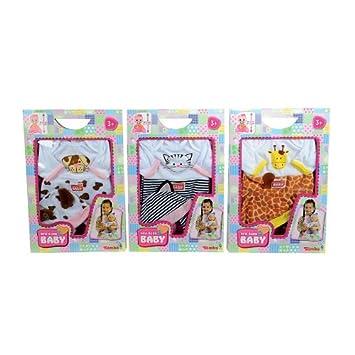 Amazon.es: Simba Toys 105400911 Body - Ropa para muñeco de recién ...