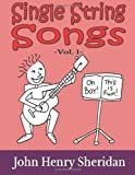 Single String Songs Vol. 1, John Sheridan, 1494735172