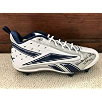 Randy White Hand Signed Reebok Football Cleat Football Hof Cowboys - JSA Certified - Autographed NFL Cleats photo
