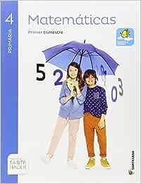 MATEMATICAS 4 PRIMARIA SABER HACER - Pack de 3 libros