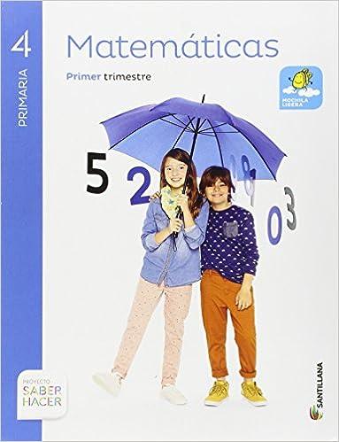 MATEMATICAS 4 PRIMARIA SABER HACER - Pack de 3 libros ...