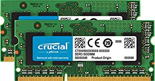 Crucial 16GB Kit (8GBx2) DDR3/DDR3L 1600 MT/S (PC3-12800) Unbuffered SODIMM 204-Pin Memory - CT2KIT102464BF160B (B007B5S52C) | Amazon price tracker / tracking, Amazon price history charts, Amazon price watches, Amazon price drop alerts