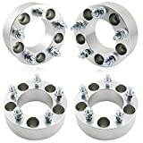 Orion Motor Tech 4pcs 2'' Wheel Spacers 5x4.75 | 12x1.5 Studs for Chevy Corvette Camaro S10 S15 GMC Jimmy Sonoma Typhoon & Cadillac Oldsmobile Pontiac