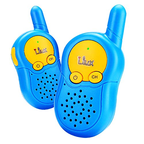 Walkie Talkies for Kids 3 Channel Walkie Talkies Long Range Durable Two Way Radio 3 Miles Handheld Mini Walkie Talkies for Kids (Pair) (New Pool Equipment Package)