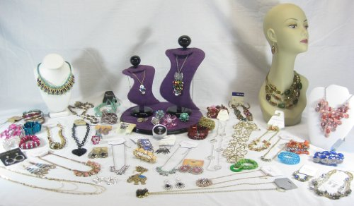 [10 Piece Assorted Mixed Fashion Jewelry Lot] (Wholesale Lot 10 Piece)