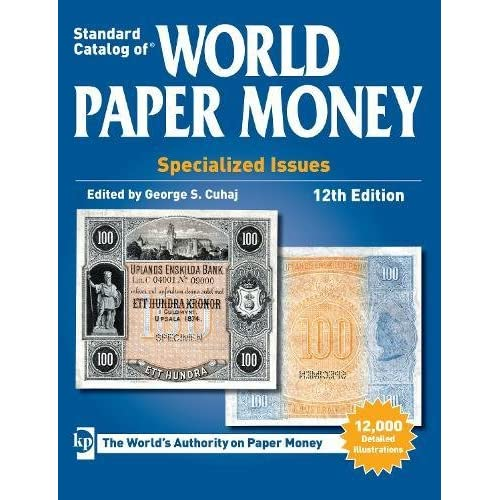 Standard Catalog of World Paper Money, Specialized Issues (Standard Catalog of World Paper Money Vol 1: Specialized Issues) 51K3LXEN1DL  Home Page 51K3LXEN1DL