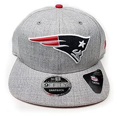 New Era New England Patriots 9Fifty Shore Snapper Adjustable Snapback Hat NFL by New Era