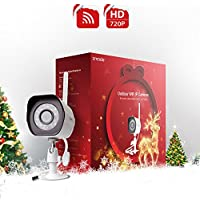 Zmodo 720p HD Wireless Outdoor Indoor Security Camera 65ft Night Vision Holiday Present Wrap
