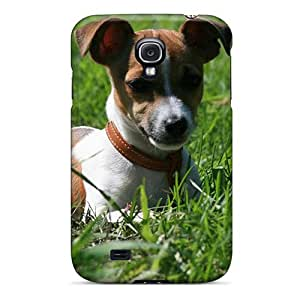 Cute Appearance Cover/tpu FgVFwxV6171DqZBI Animals Dogs Jack Russell Terrier Case For Galaxy S4