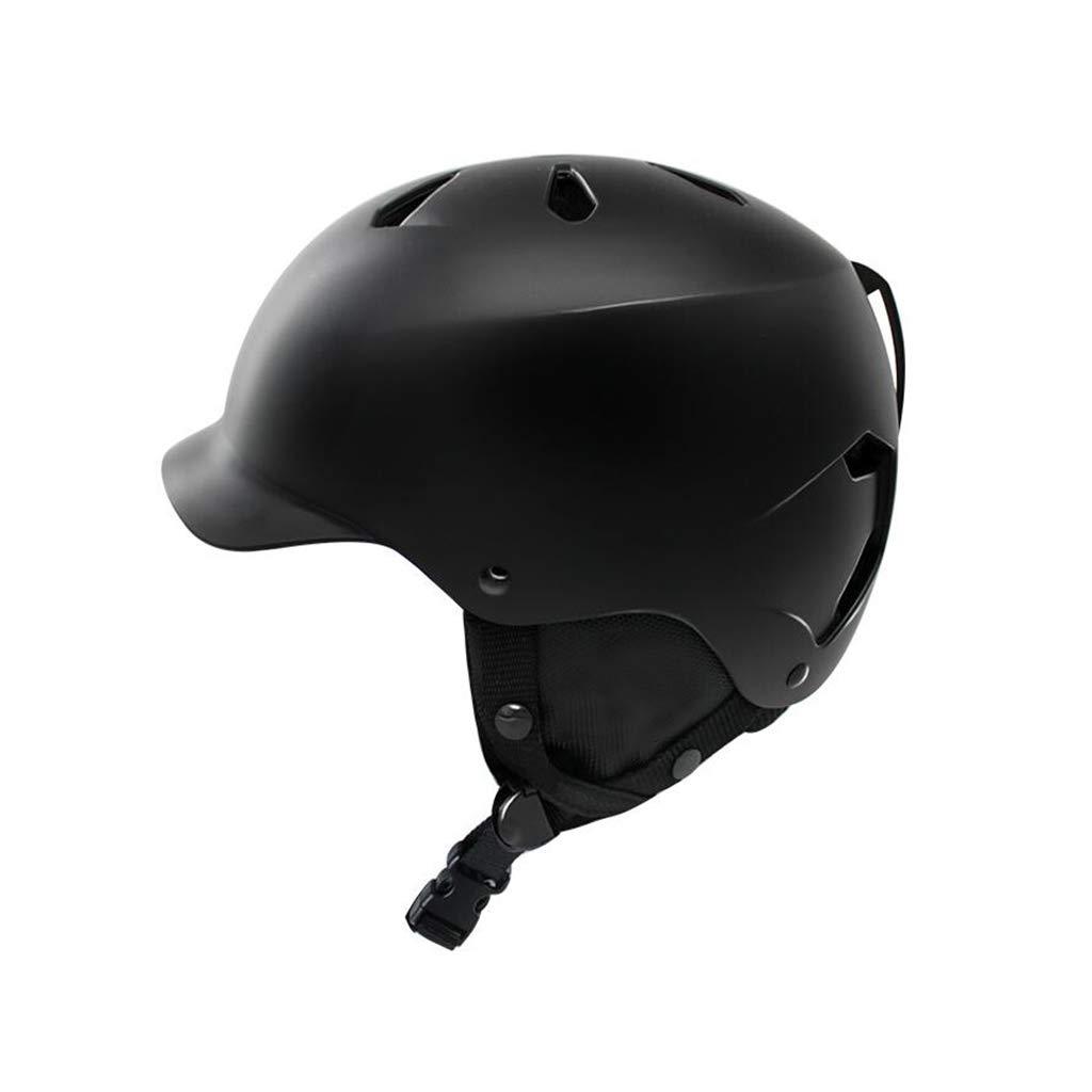 【超歓迎】 ヘルメット Medium スキー Medium ブラック&スノーボードヘルメット、スキー用保護安全帽男性女性スケートボードスケートヘルメットシングルボードダブルボード調節可能B B07PWCTZBG ヘルメット ブラック Medium Medium ブラック, LAUGH GRAN:0f67c1d1 --- a0267596.xsph.ru