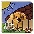 Little Puppy: Finger Puppet Book (Little Finger Puppet Board Books)