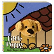 Little Puppy Finger Puppet Book (Little Finger Puppet Board Books)