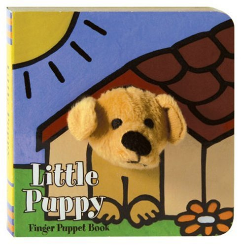 Little Puppy Finger Puppet Book (Little Finger Puppet Board Books)]()