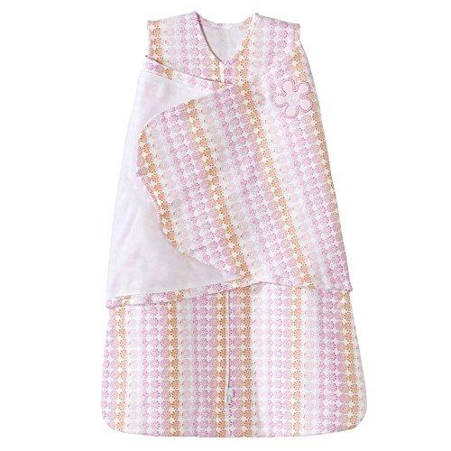 HALO 100% Cotton Sleepsack Swaddle Wearable Blanket, Floral Ombre, Newborn