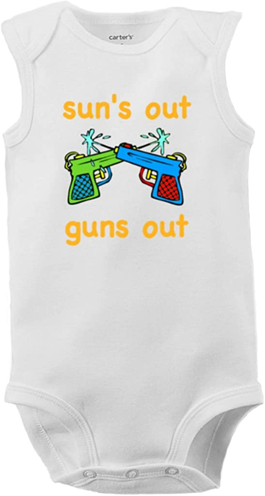 Cute Unicorns Baby Clothes Sleeveless Cute Novelty Toddler Summer Bodysuit Gift for Baby