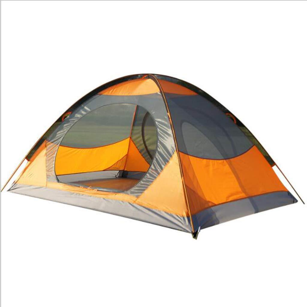 Barato ZCP Tienda De Doble Puerta De Doble Puerta 2 Pareja Carpa Camping Acampada De Protección contra El Frío